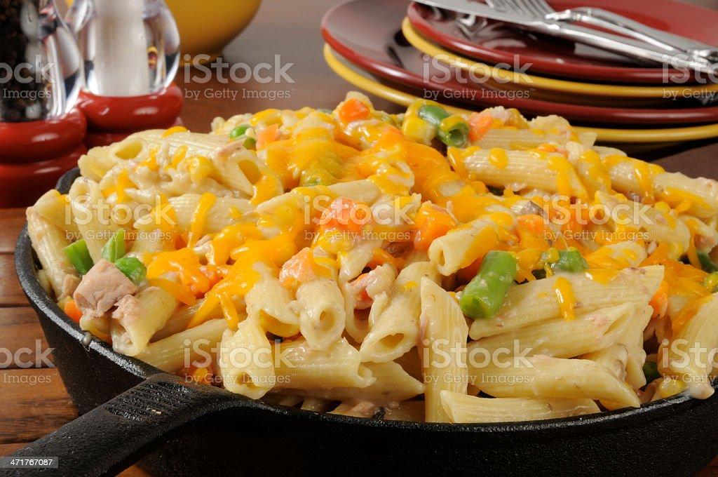 Tuna noodle casserole royalty-free stock photo