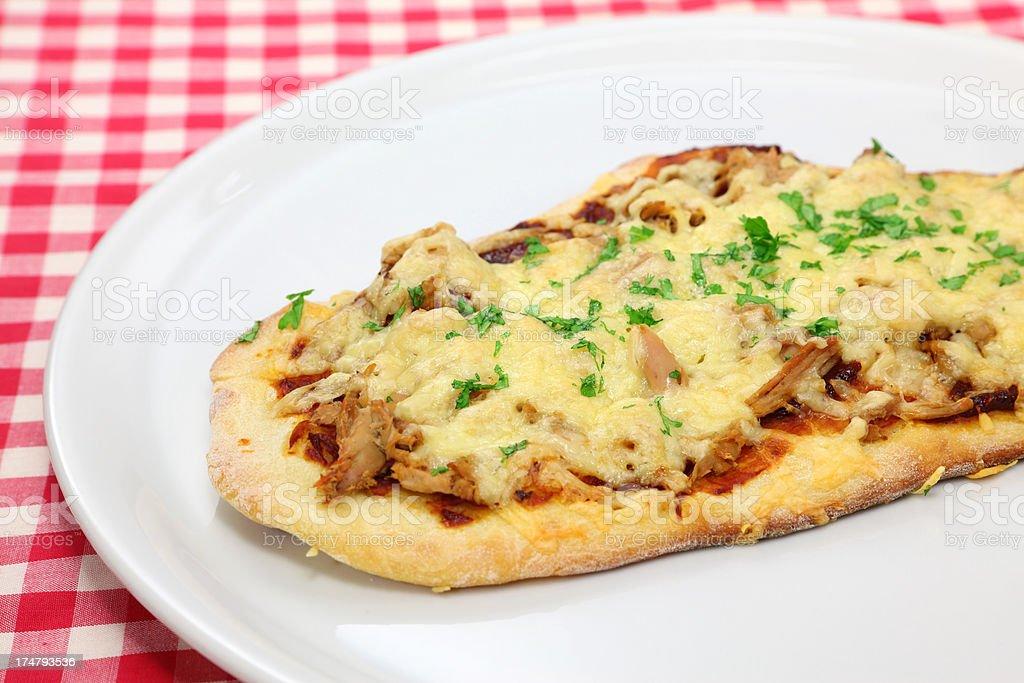 Tuna Pizza stock photo