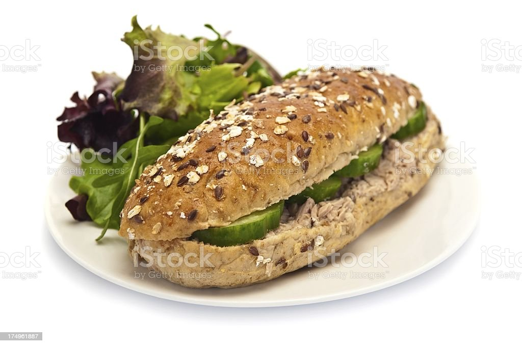 Tuna Roll royalty-free stock photo