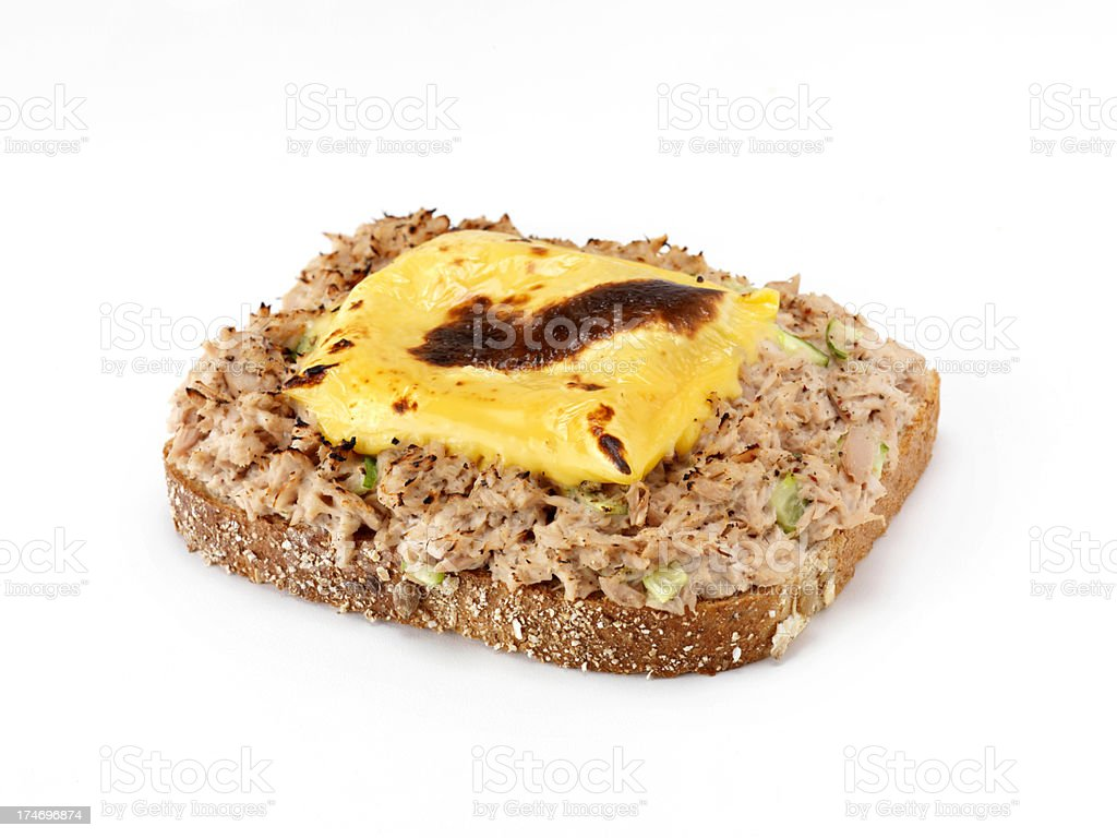 Tuna Salad Melt royalty-free stock photo