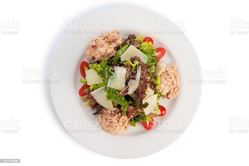 Tuna salad stock photo