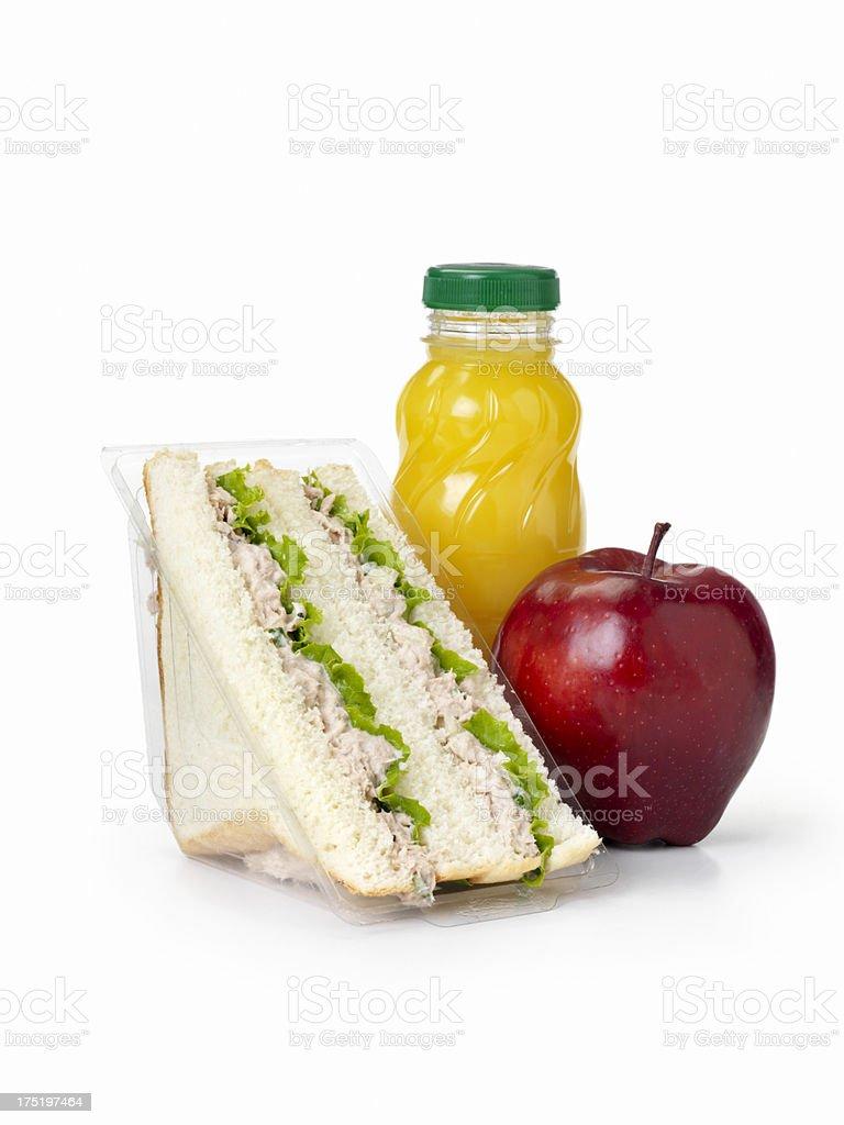 Tuna Salad Sandwich royalty-free stock photo