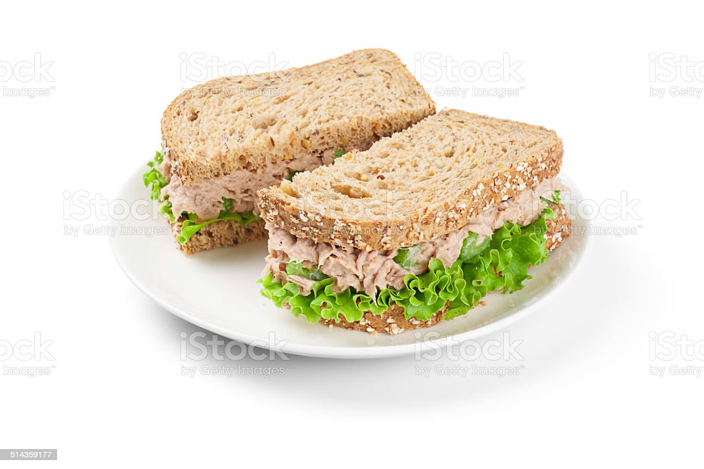 Tuna Salad Sandwich stock photo
