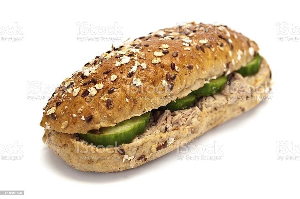 Tuna Sandwich royalty-free stock photo