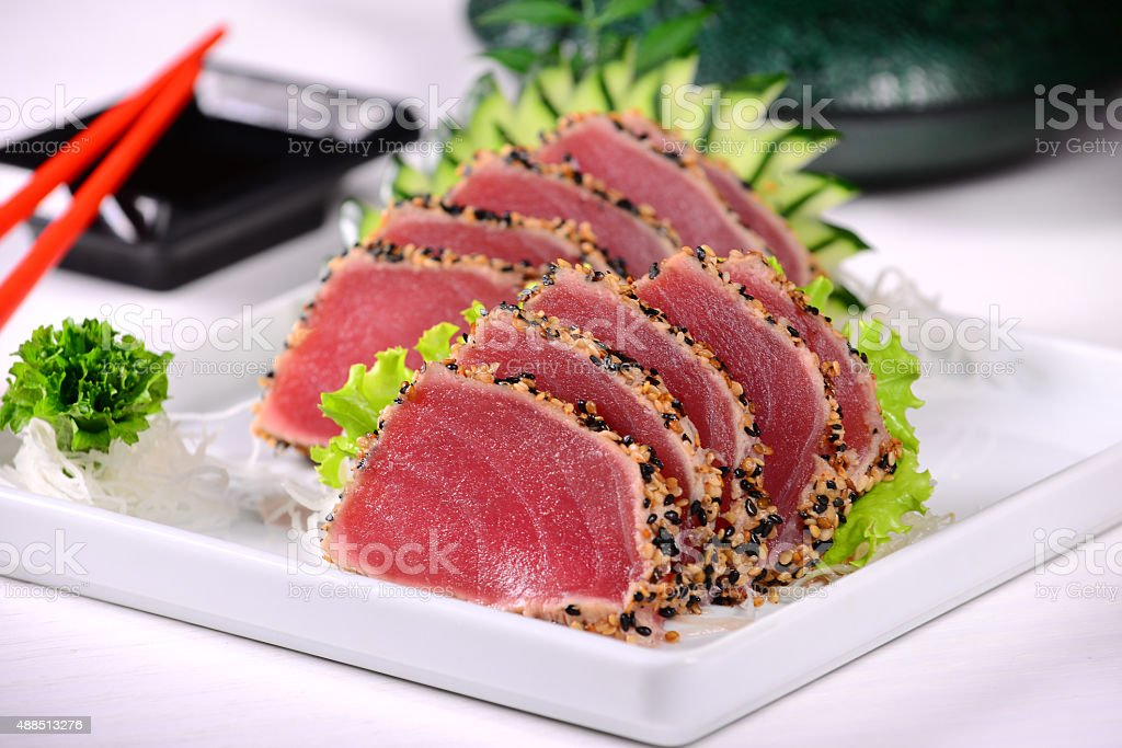 Tuna Sashimi stock photo