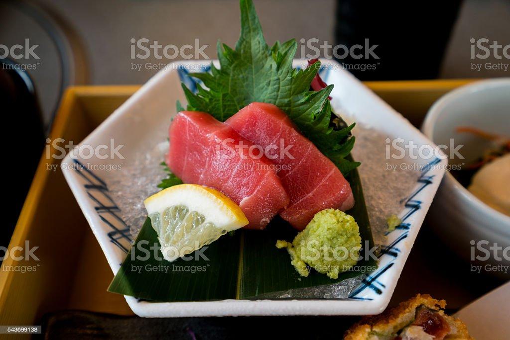 Tuna Sashimi stock photo