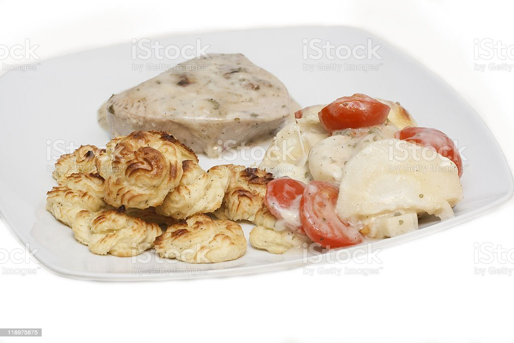 Tuna steak royalty-free stock photo