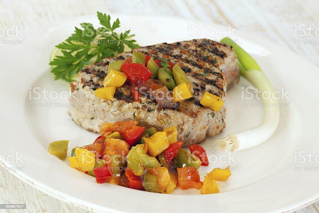 Tuna Steak royalty-free stock photo