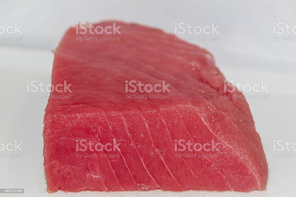 Tuna Steak Raw stock photo