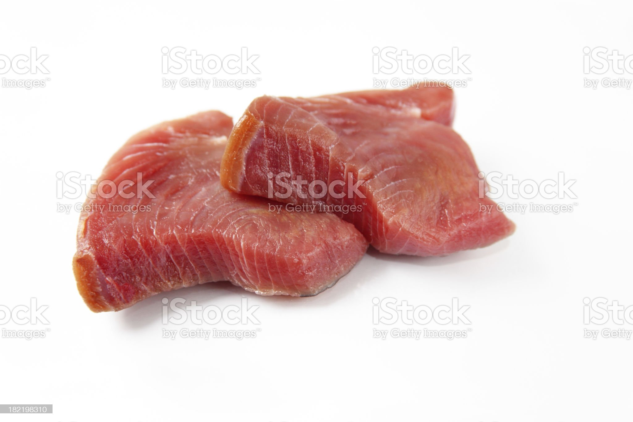 Tuna steaks royalty-free stock photo