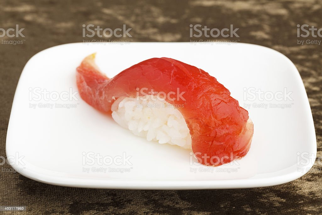 Tuna Sushi, Maguro royalty-free stock photo