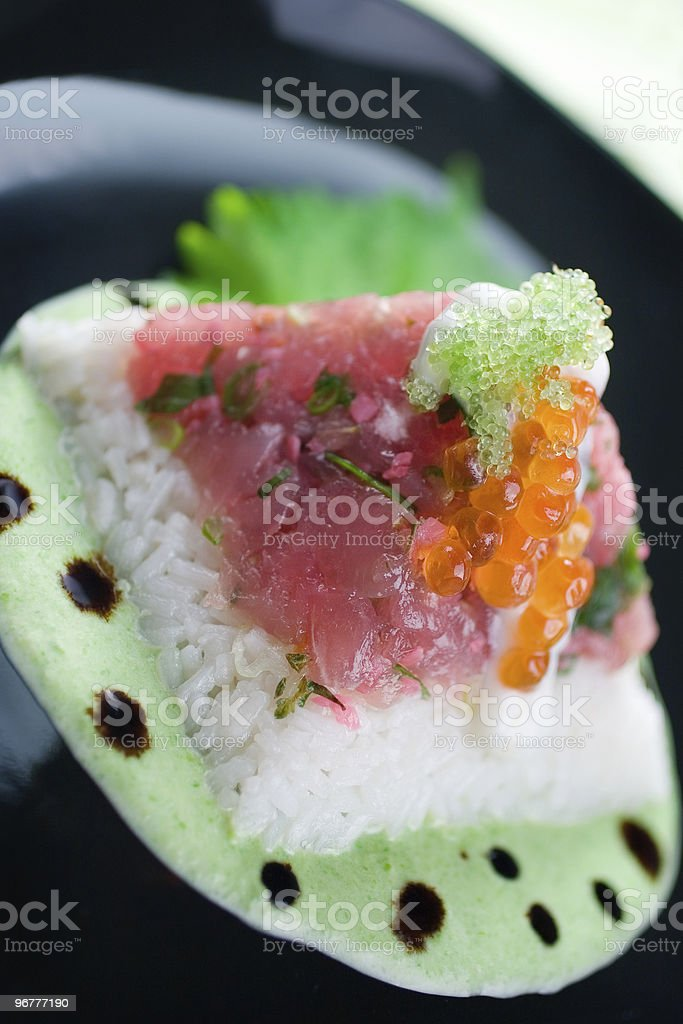 Tuna Tartare royalty-free stock photo