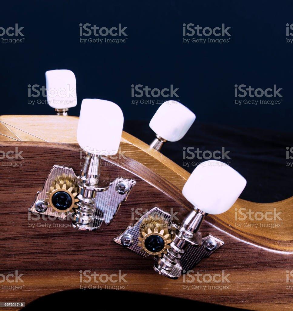 Tuning keys stock photo