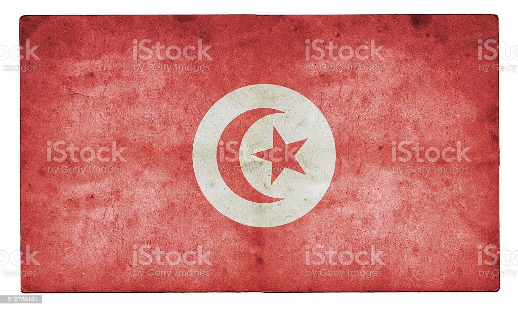 Tunisia Flag stock photo