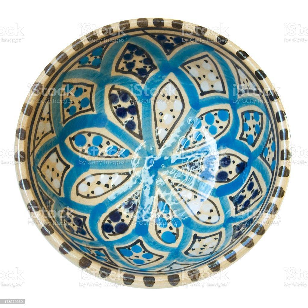 Tunisian bowl stock photo