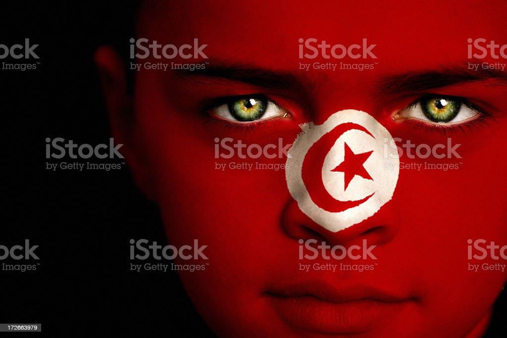Tunisian Boy stock photo