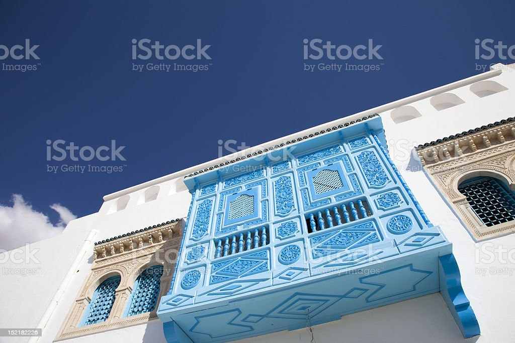 tunisian home royalty-free stock photo
