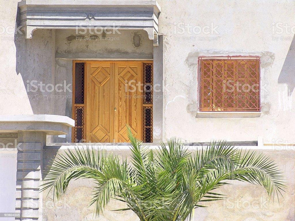 Tunisian home. royalty-free stock photo