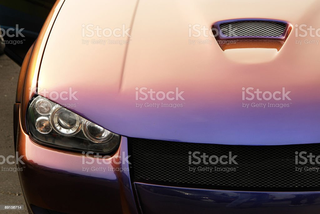 Tunned series stock photo