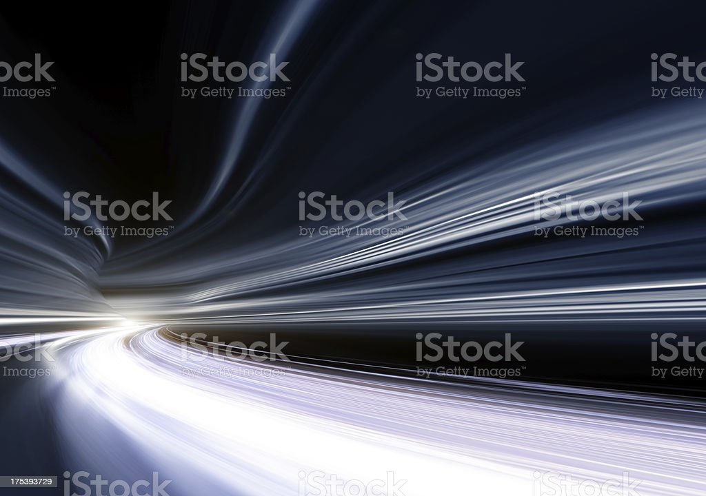 Tunnel concepts stock photo