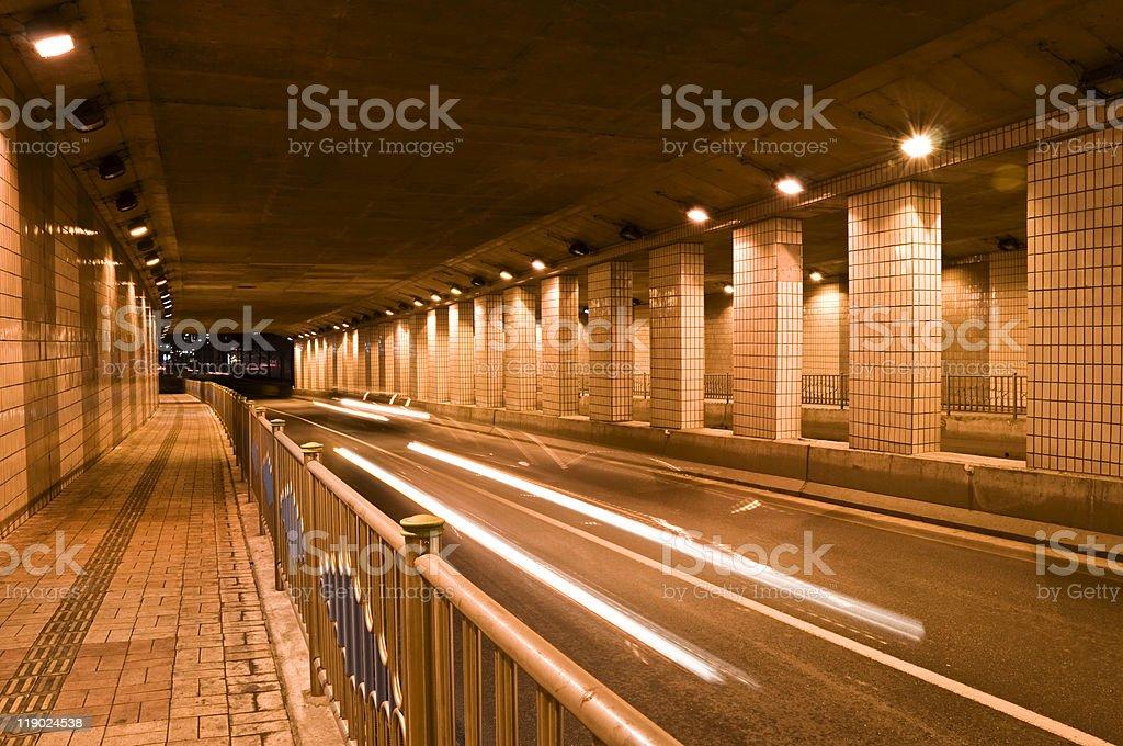 Tunnel Drive stock photo