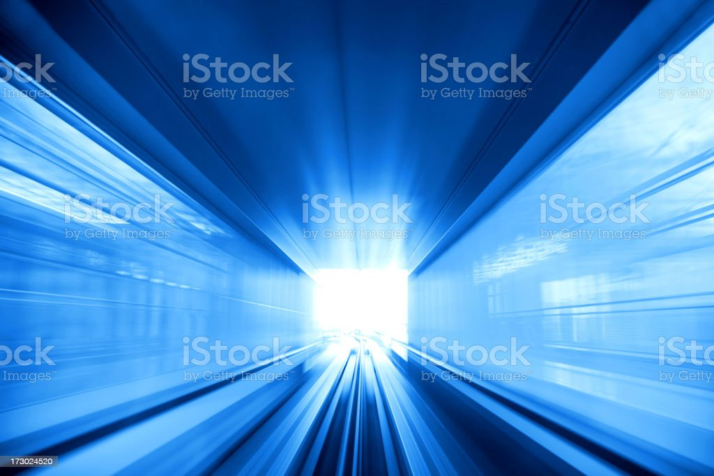 Tunnel Light stock photo