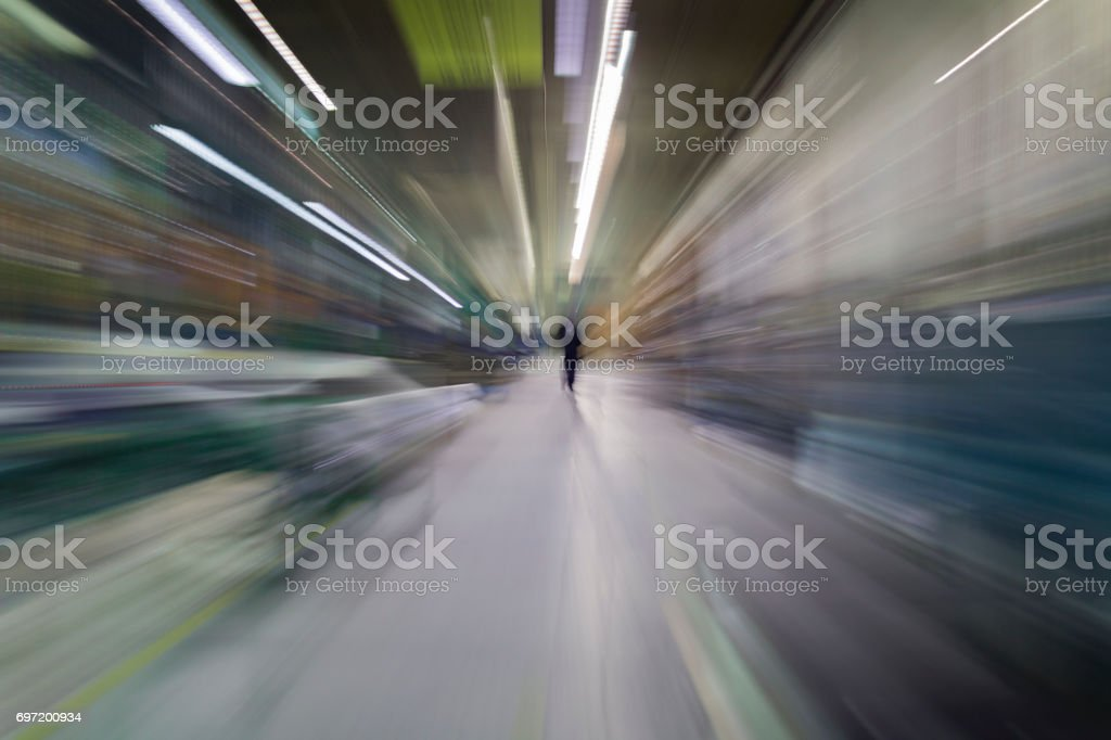 Tunnel stock photo