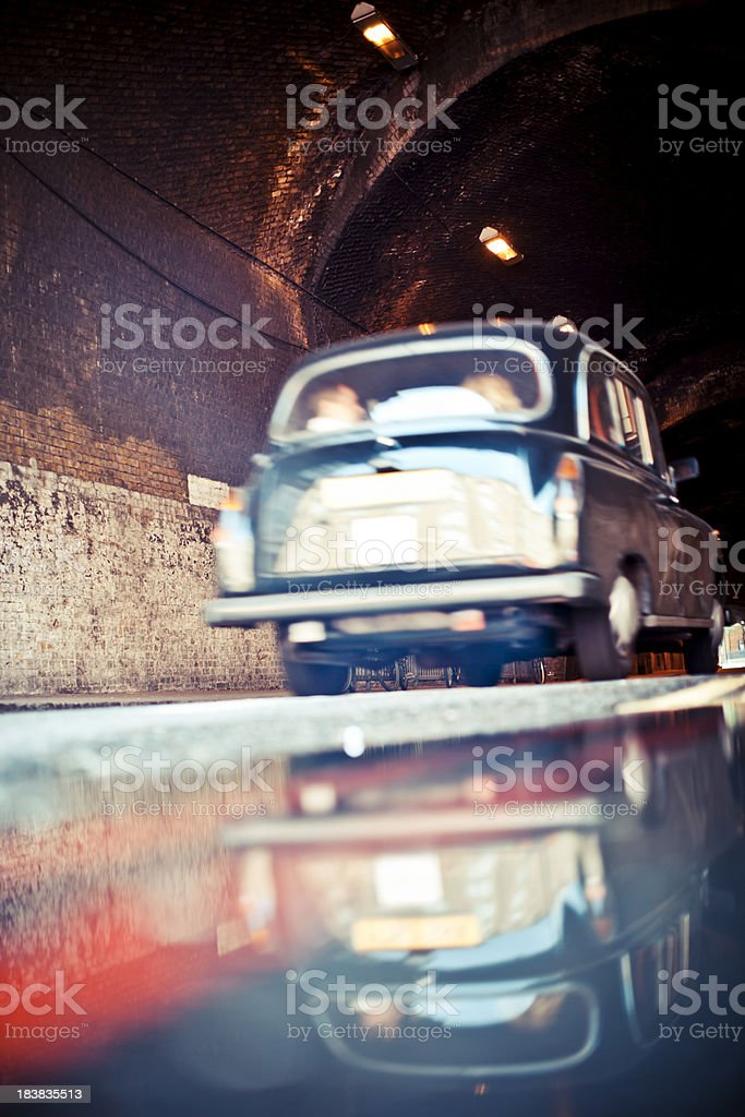 tunnel ride royalty-free stock photo