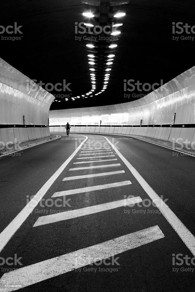 tunnel to the unknown... royalty-free stock photo