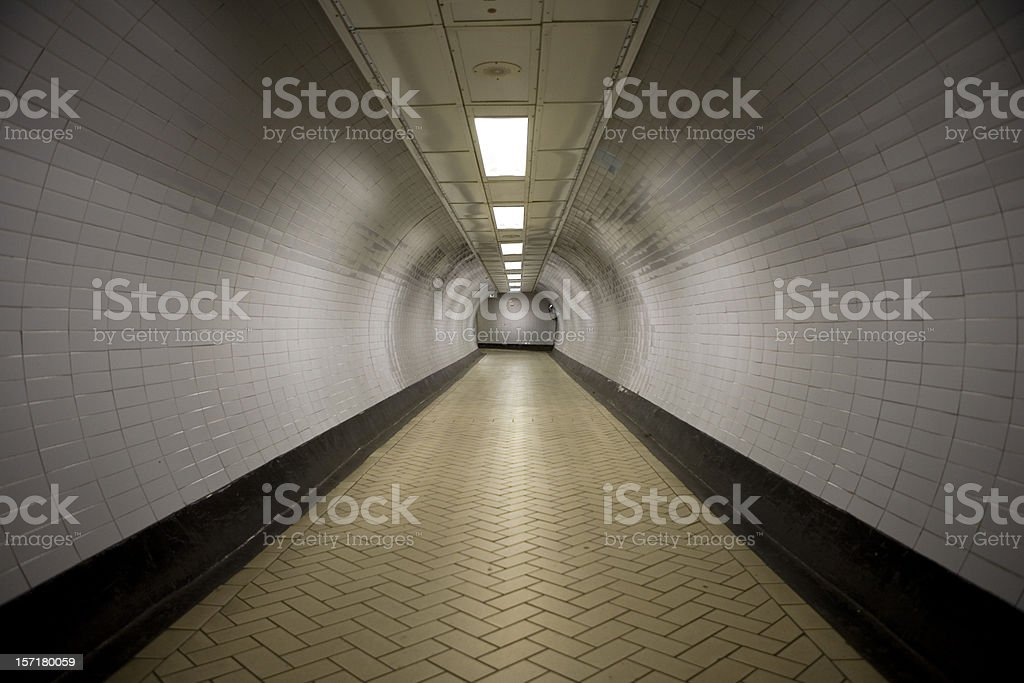 Tunnel Vision royalty-free stock photo