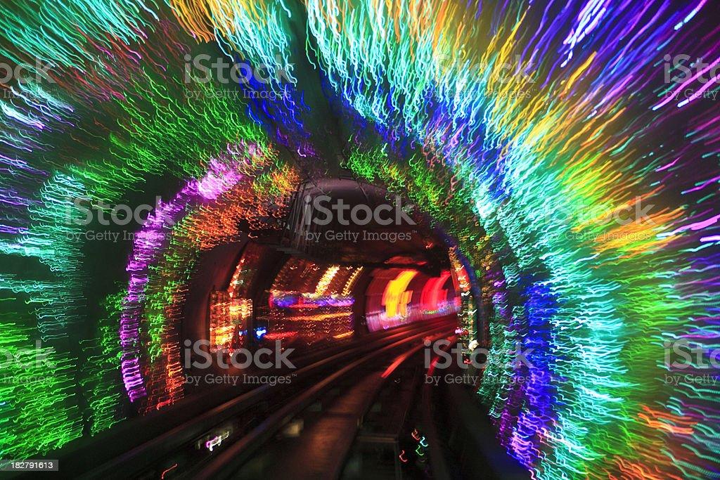 Tunnel vision - Shanghai stock photo