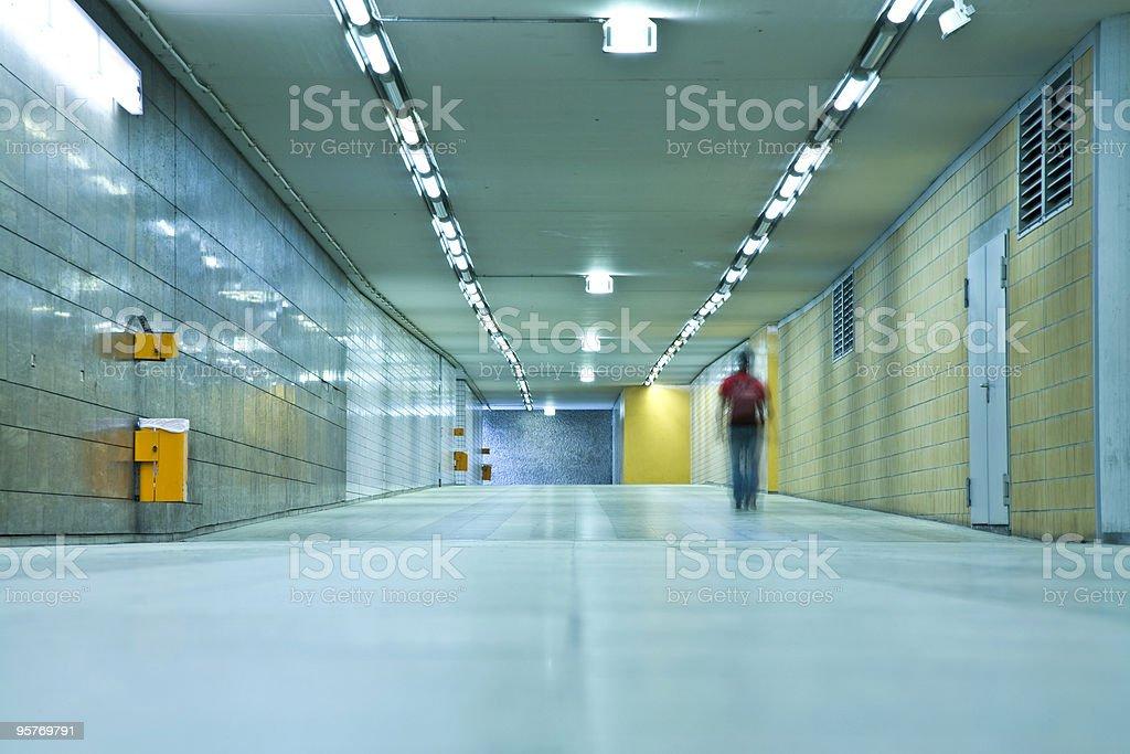 Tunnel Walkway royalty-free stock photo