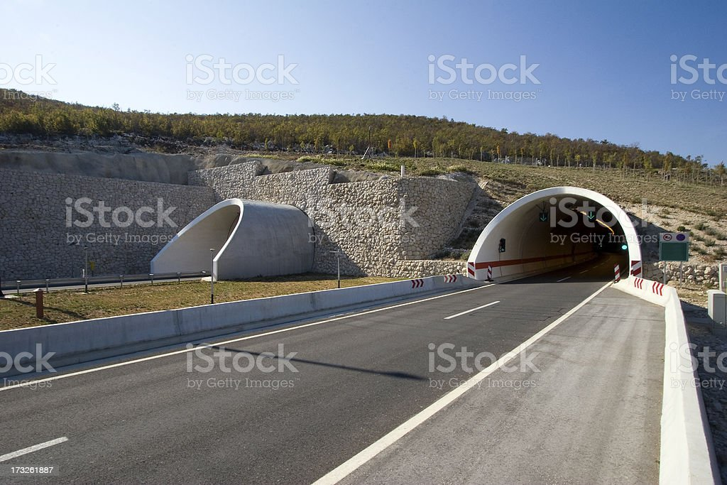 Tunnels royalty-free stock photo