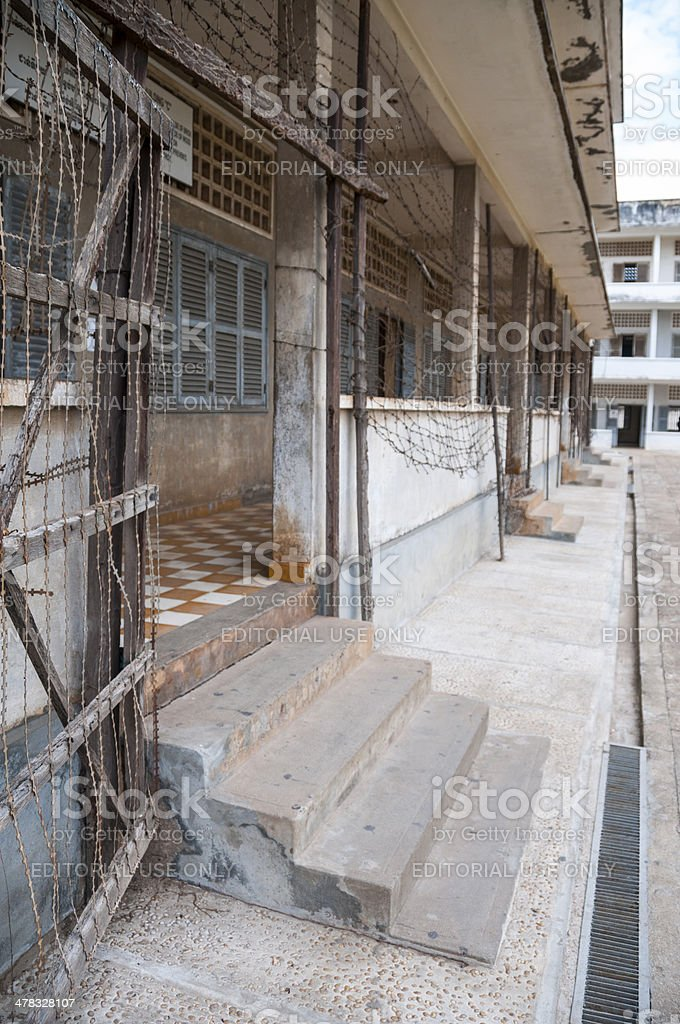 Tuol Sleng, Khmer Rouge Prison In Cambodia stock photo