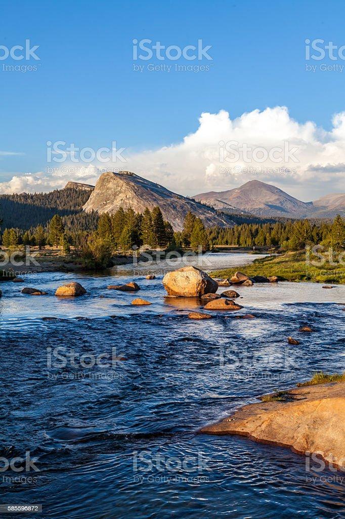 Tuolumne Meadows, Yosemite National Park, California stock photo