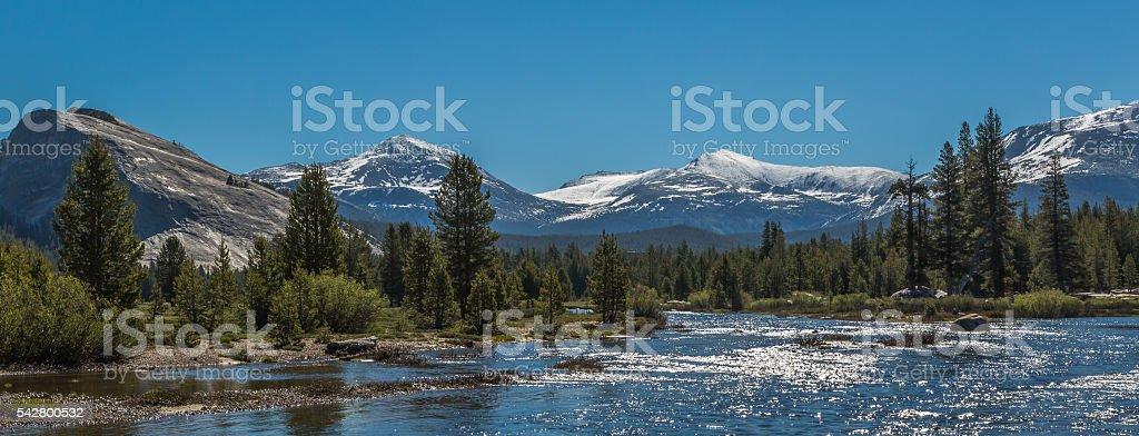 Tuolumne river stock photo