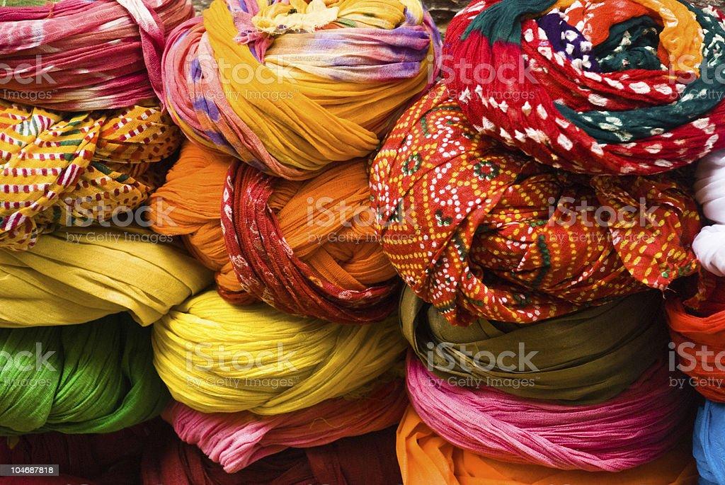 Turbans royalty-free stock photo