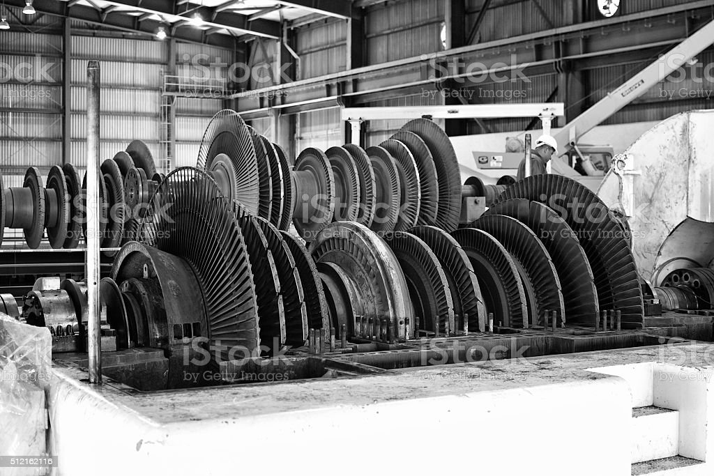 turbinas de generador stock photo