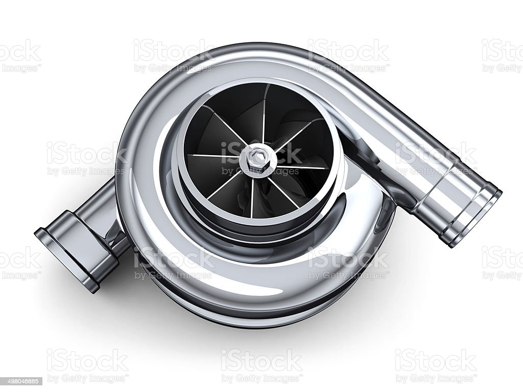 Turbine car stock photo