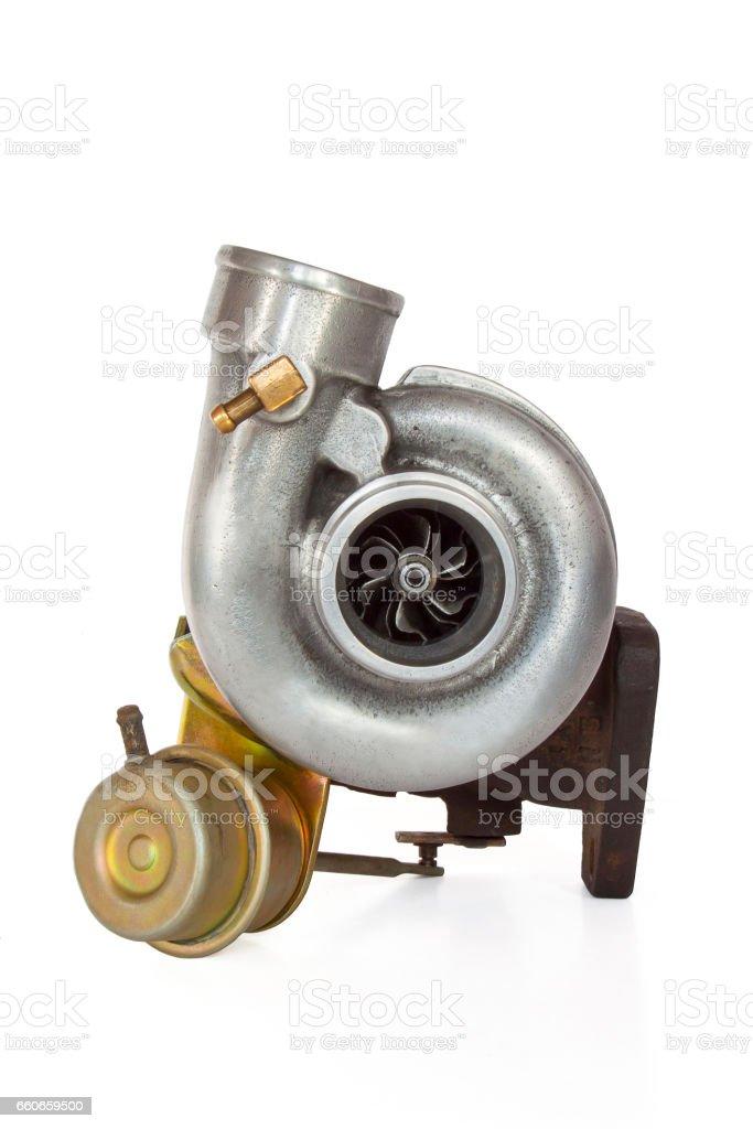 Turbine for cars. stock photo