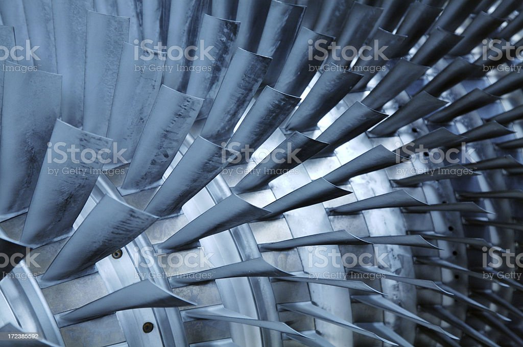 Turbine open royalty-free stock photo
