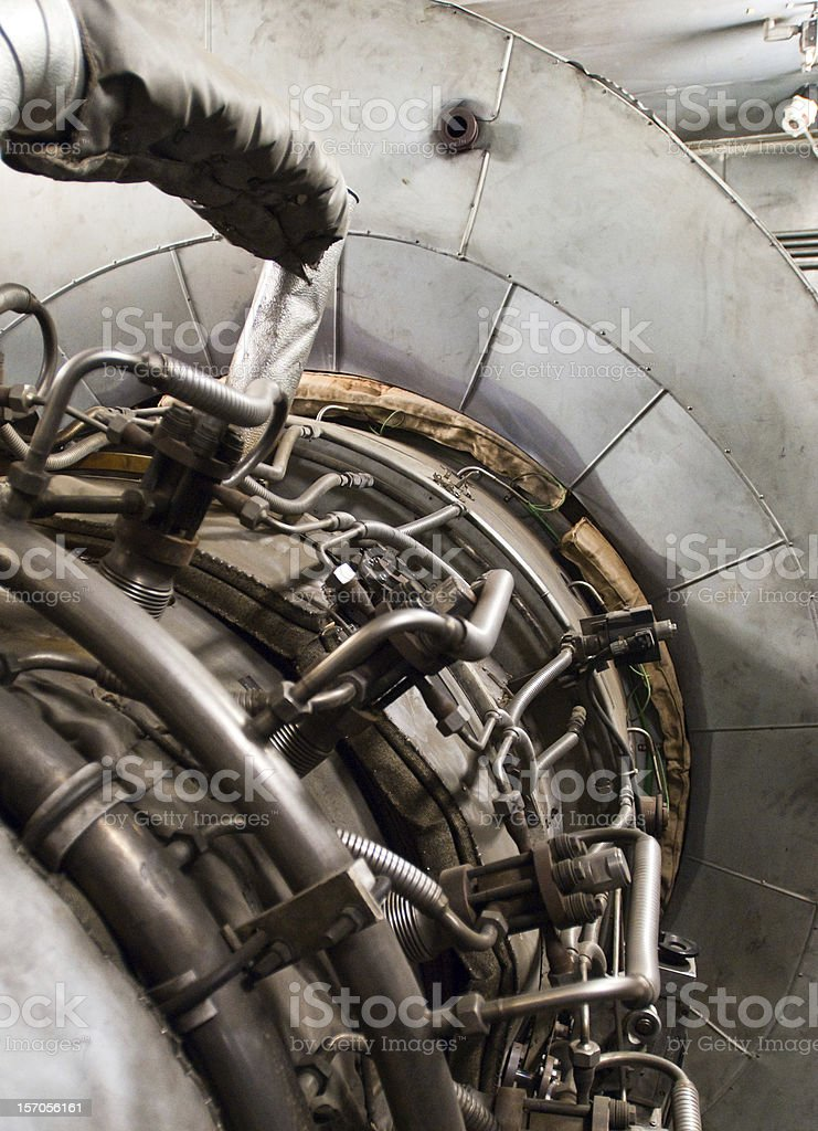Turbine royalty-free stock photo