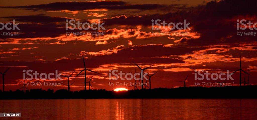 Turbine Time stock photo