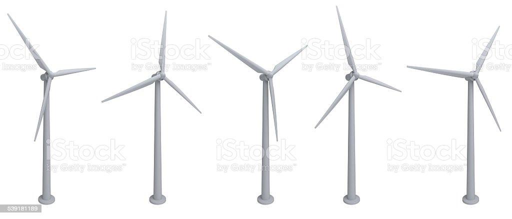turbines stock photo