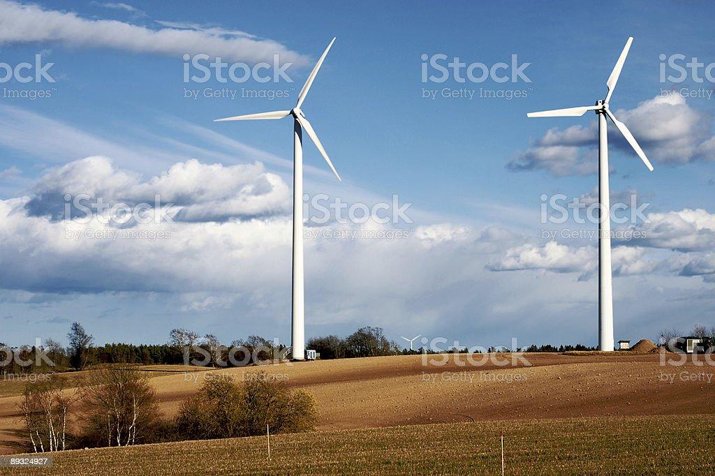 Turbines royalty-free stock photo