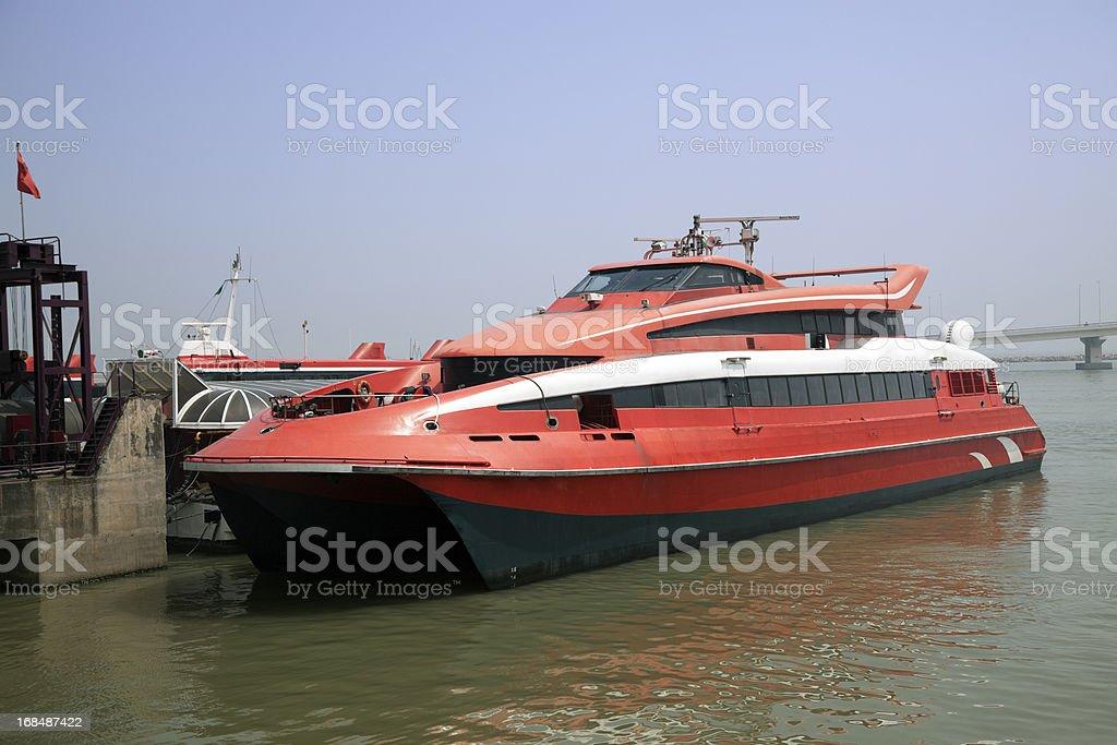 Turbojet Ferry stock photo