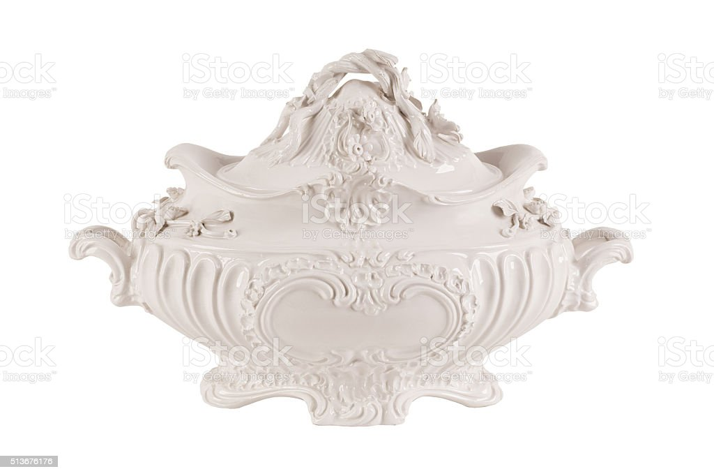 Tureen stock photo