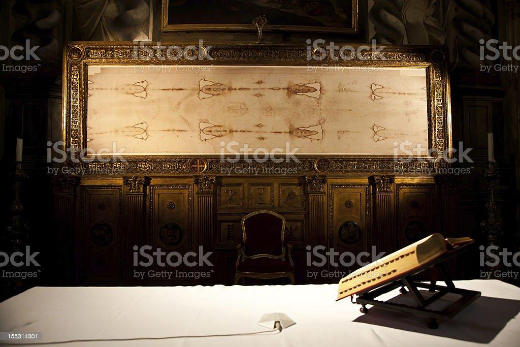 Turin, Italy - Sacred Shroud royalty-free stock photo