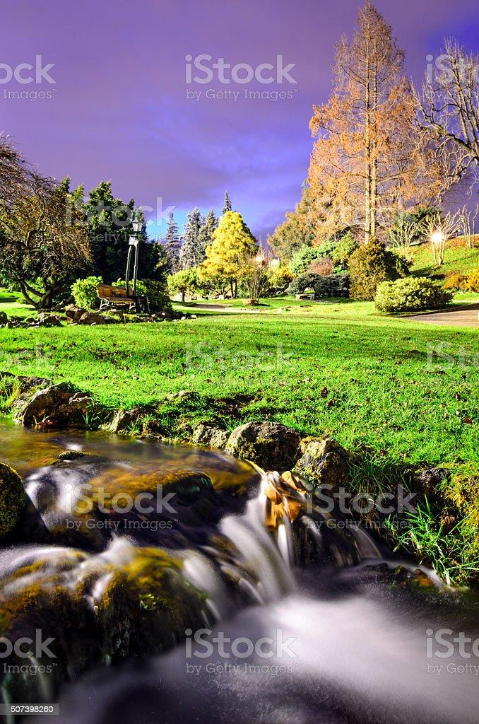 Turin (Torino) Parco del Valentino (Giardino roccioso) stock photo
