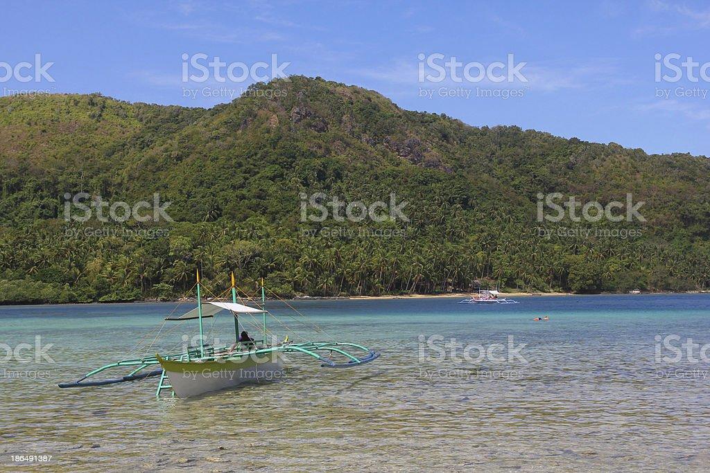 Turis boat stock photo